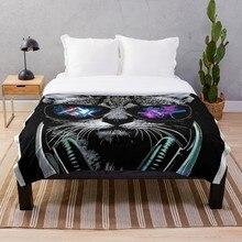 cat alan walker Throw Blanket Soft Sherpa Blanket Bed Sheet Single Knee Blanket Office Nap Blanket alan walker bergen