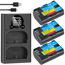 FOR canon LP E6 LP E6 LP E6N Battery 2650mAh For Canon 5D Mark II III IV, 80D, 70D, 60D, 6D, EOS 5Ds, 5D2, 5D3, 5DSR, 5D4 camera