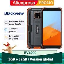 Blackview BV4900 Android 10 Smartphone 3GB 32GB Resistente IP68 Teléfono móvil impermeable 5580mAh NFC Celular