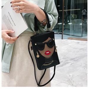 Image 5 - סגנון חדש סקסי אישה אופנה קטן Crossbody תיק לנשים 2020 כתף שרשרת תיק Pureses ותיקי עור מפוצל מצמד תיק