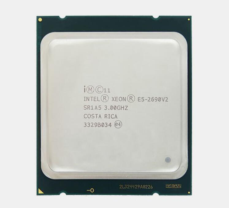 HUANANZHI X79 Dual CPU Mining Motherboard M.2 SSD Slot 2 Processors Xeon E5 2690 V2 6 Tubes CPU Coolers 8*16G 128G 1866 RAM RECC 6