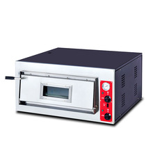 BS-661B Commercial Oven Layer Plate of Bread Cake Baking Multi-Function Large-capacity Single-layer Electric Pizza Oven 220v large capacity oven 4500w commercial electric oven cake bread large pantry oven hot air circulation oven