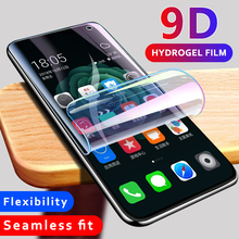 9D Full Soft Hydrogel Film For Samsung Galaxy S10 S9 S8 Plus S10e Note 9 8 Screen Protector For Note 10+ S10 5G Clear Front Film