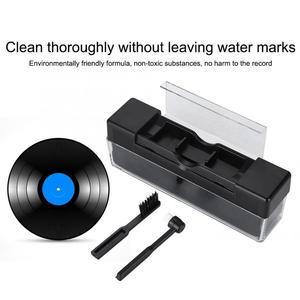 Антистатическая щетка для чистки виниловых пластинок, наборы для удаления пыли для переворачивающихся платформ, оптовая поддержка