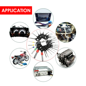 Image 5 - Kit de extracción de terminales de coche, pinza de presión para cables, Pin Extractor, herramientas profesionales de reparación, 60 unids/set