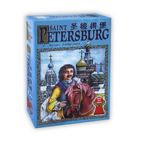 Saint Petersburg Board Game 2 4 Players Family/Party Best Gift for Children Funny Cards Game