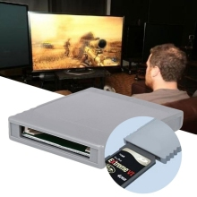 Ключ SD флэш-карты памяти ридер конвертер адаптер для nintendo wii NGC GameCube консоли