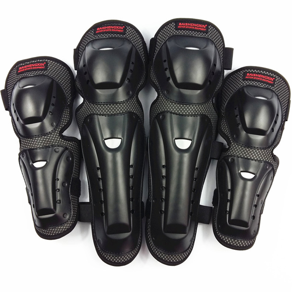 For SX032 Motorcycle Protective Gear Racing Titan Race Adult Knee Shin Guard Off-Road Motorcycle Body Armor Riding Knee Pads Ant