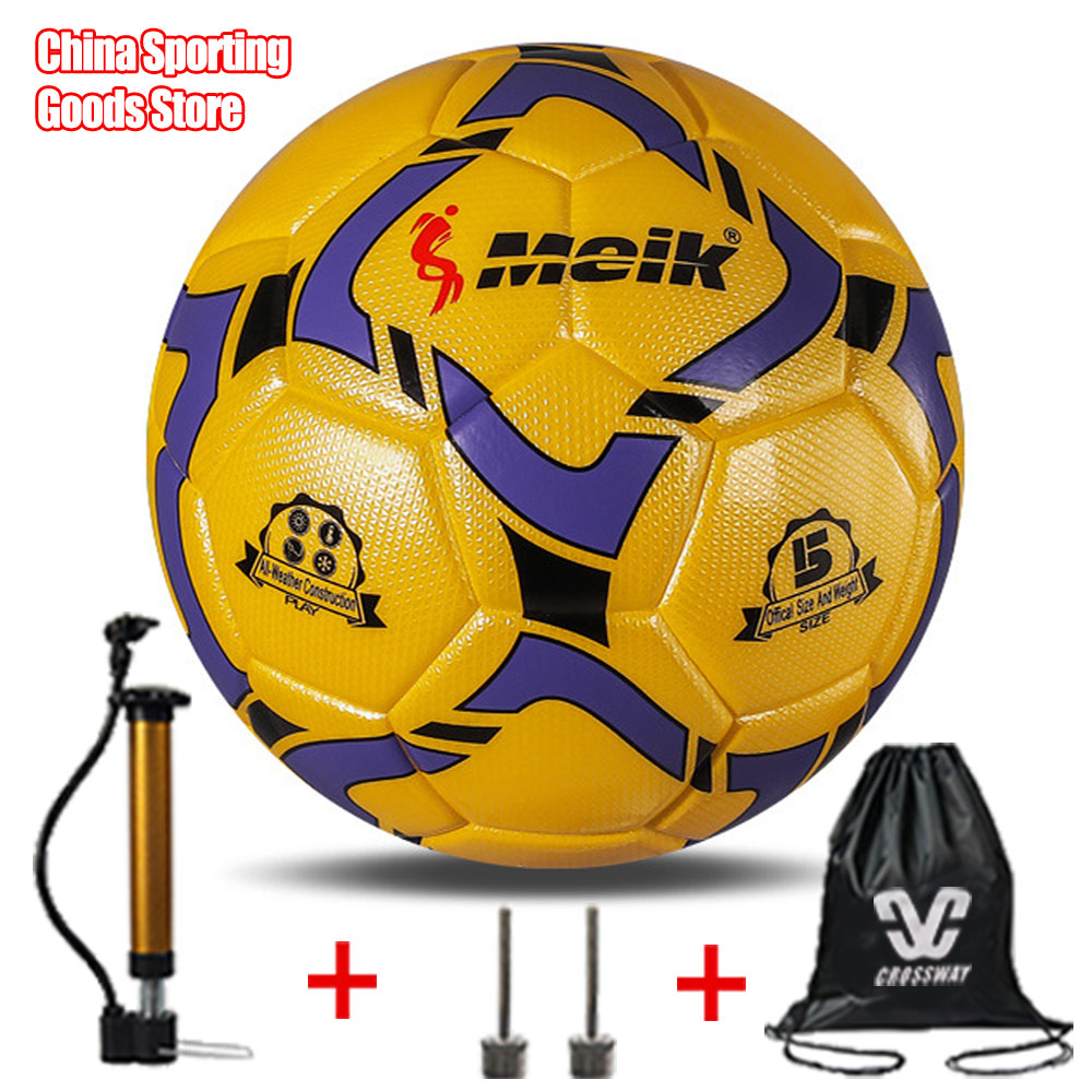 High Quality Football, TPU Patch Hot Glue, Primary School Training Match 4 Football, Football, Free Air Pump + Air Needle + Bag