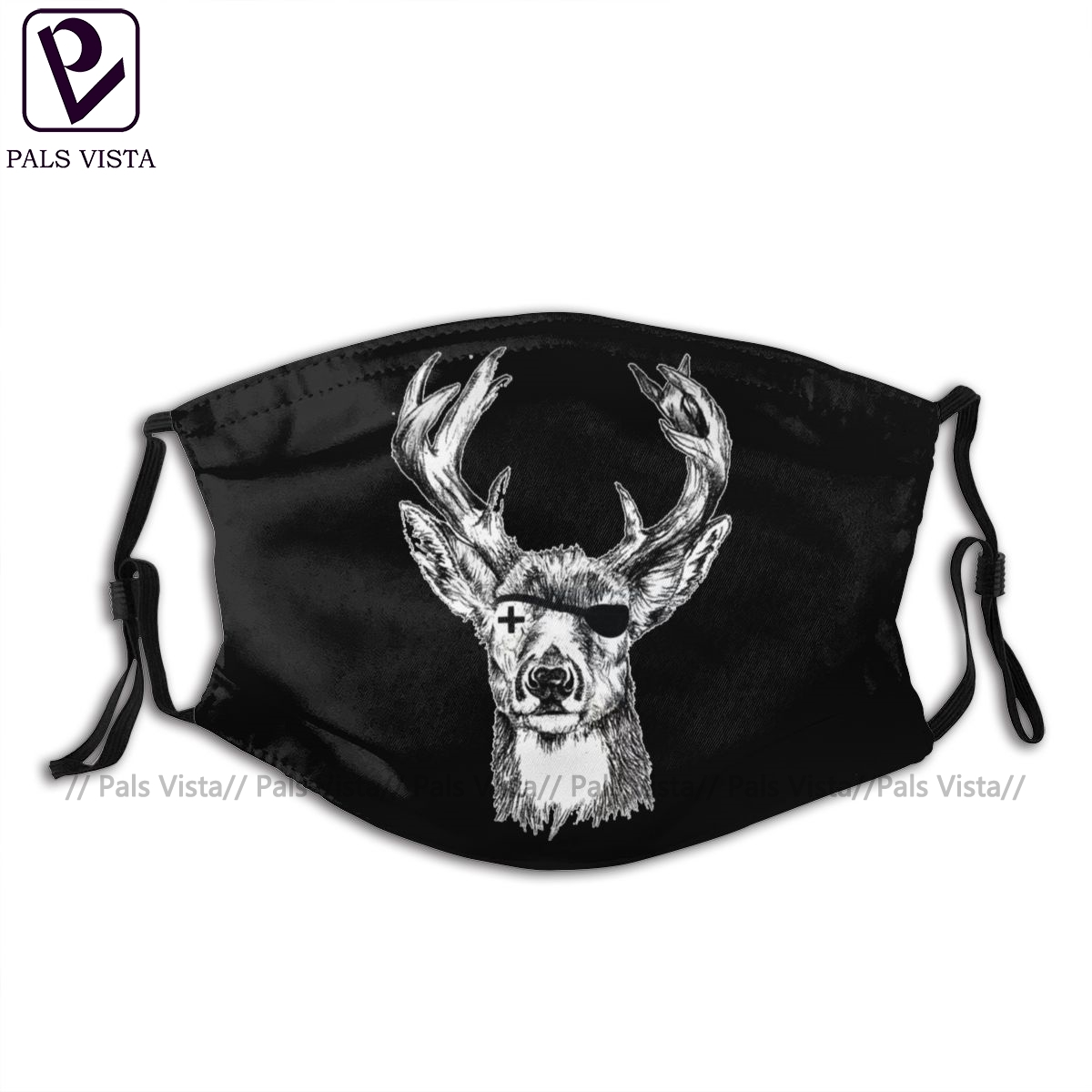 Jagermeister Mouth Face Mask Jagermeister Facial Mask Cool Fashion with 2 Filters for Adult|Мужские маски-балаклавы|   | АлиЭкспресс