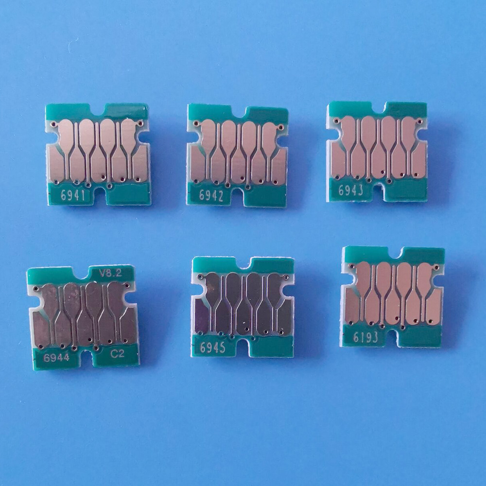 T6941-T6945 And T6193 Chips For Epson Surecolor T3200 T5200 T7200 T3270 T5270 T7270 Cartridge And Maintenance Tank