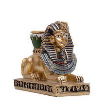 Подсвечник для дома декоративный подсвечник bastet/anubis/sphinx/neith