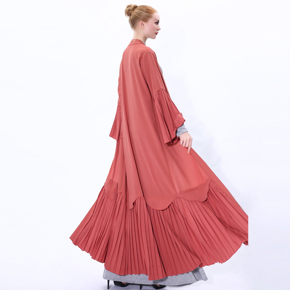 Ramadan Eid Mubarak Kimono Cardigan Abaya Dubai Hijab Muslim Dress Kaftan Caftan Islam Clothing Turkish Abayas For Women Robe