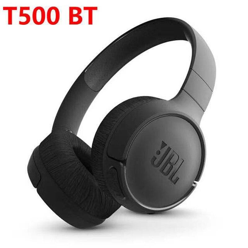 T500BT Беспроводной Bluetooth наушники глубокое звучание басов спортивные игровая гарнитура с микрофоном Шум шумоподавления складные наушники ор...