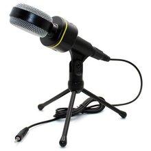 Конденсатор Запись микрофон с микрофонная стойка для ПК мобильный