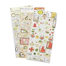 1pcs/lot Japan Funny Fresh Fat Rabbit Paper Sticker Hot Selling Decoration Stickers Scrapbooking Stationery