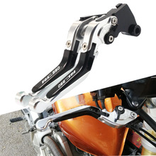For KTM RC390 RC 390 RC-390 2013 2014 2015 2016 2017 CNC Motorcycle Brake Clutch Levers Adjustable Racing Accessories