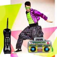 Mobile-Phone-Props Boom-Box Party-Decorations Inflatable-Toys Radio Kids PVC for Adult