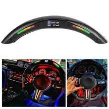 4th Gen ABS LED Performance Steering Wheel Race Digital Display Shift Indicator Lights OBD2 Module Kits
