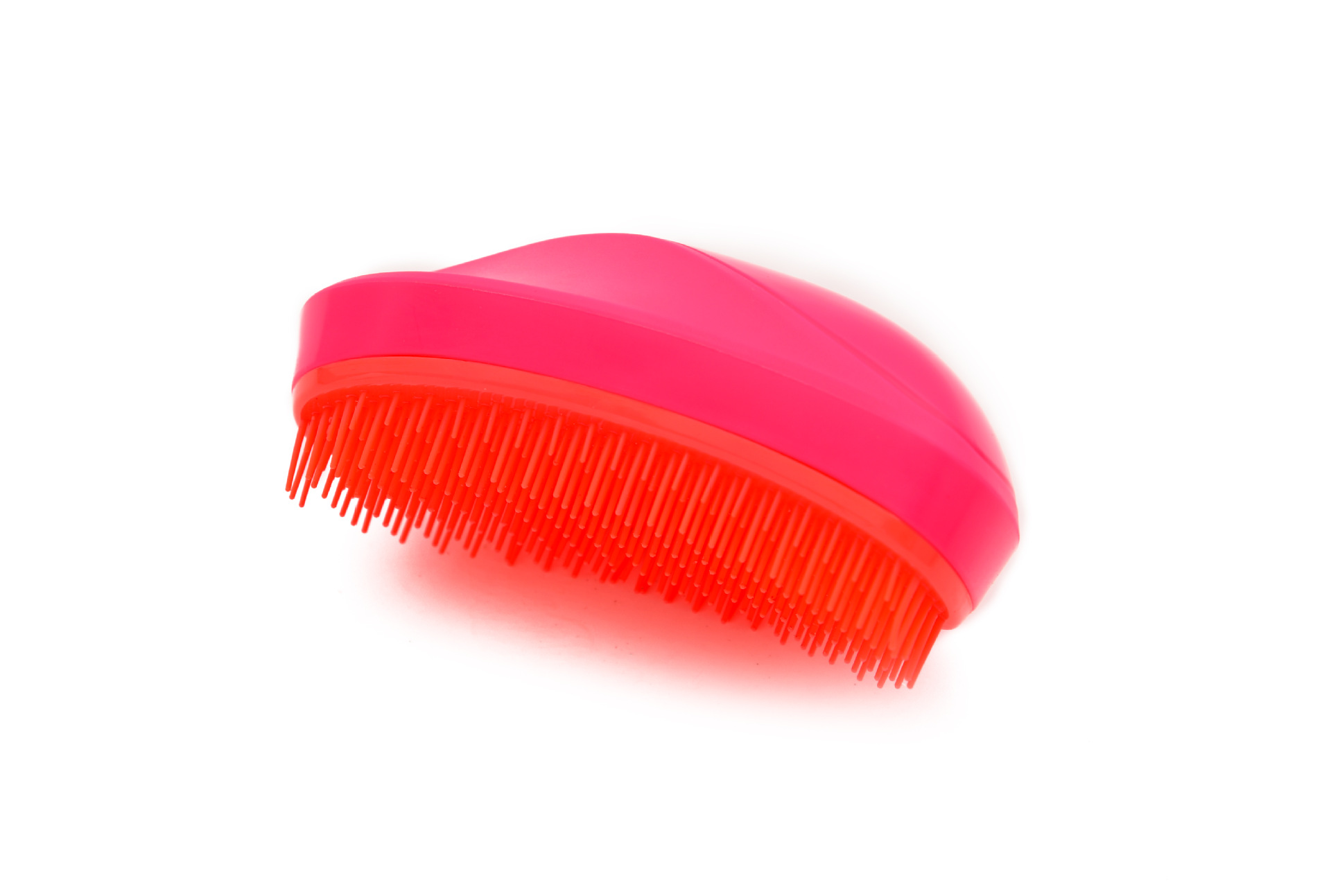 Mango-Shaped TT Tangle Teezer Hair Comb Massage Combs Plastic Comb Anti-Knot Hair Comb