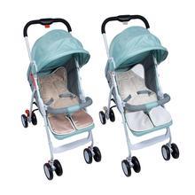 Baby Stroller Plush Cushion Universal Bunting Pad Baby Buggy Velvet Pad Blanket Windproof Stroller Plush Cushion