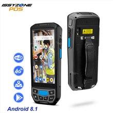 Ручной POS терминал ISSYZONEPOS, 2D QR сканер штрих кода, NFC, PDA, Android 8,1, 5 дюймов, беспроводной портативный сканер штрих кода, Wi Fi