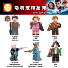 WM6048 Single Sale Newt Grindelwald Tina Queenie Gellert Jacob Action Model Building Blocks Children Toys Gifts DIY