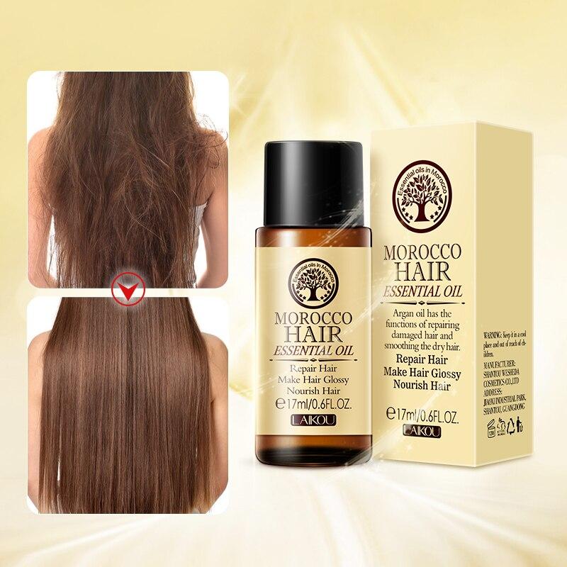 Марокканское масло для волос уход за один кусок аргановое масло для волос эфирное масло для сухих волос для кормления мульти-функциональны...