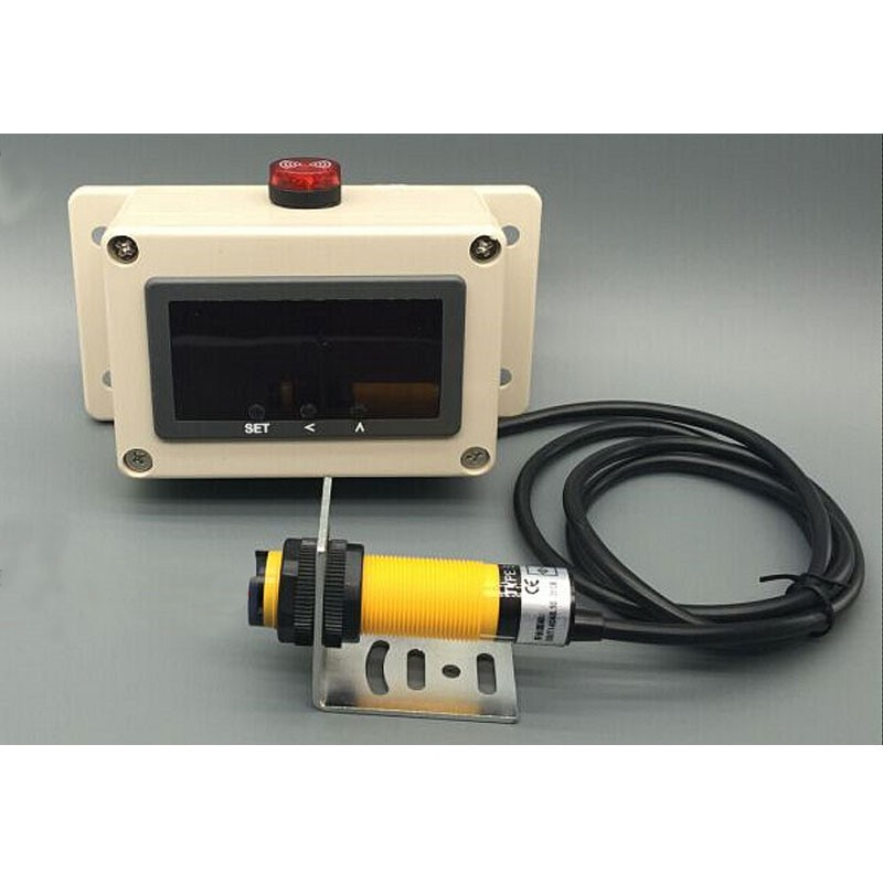 Digital Counter Display Production Counter With Single IR Photoelectric Sensor Working Distance 30CM