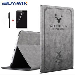 iBuyiWin Retro Magnetic Smart PU Leather Cover for Huawei MediaPad M3 8.4 BTV-W09 BTV-DL09 8.4