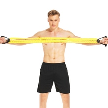 TPE Three Tube Chest Expander Pedal Puller Arm Force Home Multi-function Fitness Equipment