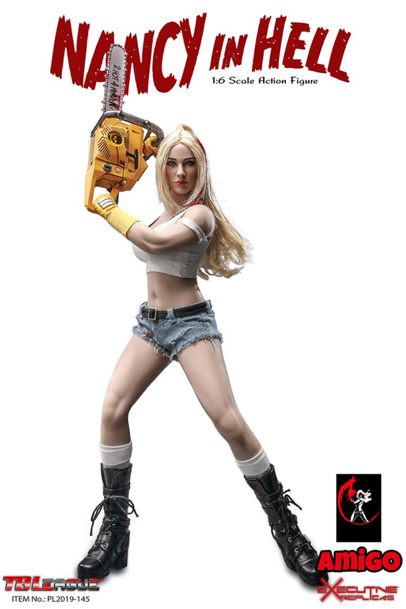 in stock full set TBLeague PL2019-145 1/6th Scale  Nancy in Hell Action Figure Colletible Toys 1
