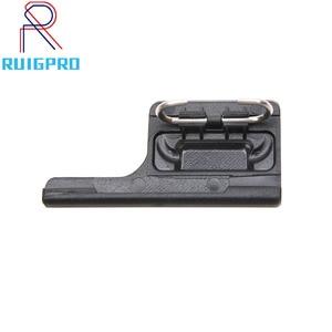 Image 1 - Black Housing Frame Backdoor Clip Lock Buckle Replacement Backdoor Frame for GoPro Hero 5 6 7 camera Accessories