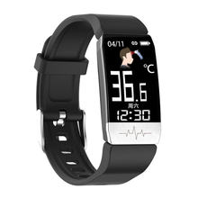 Спортивные Смарт часы t1s с пульсометром и мониторингом температуры