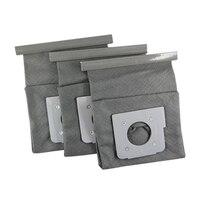3 pçs/set Lavável Filtro de Aspirador de pó Saco de Poeira para LG V 743RH V 2800RH|Peças p/ aspirador de pó| |  -
