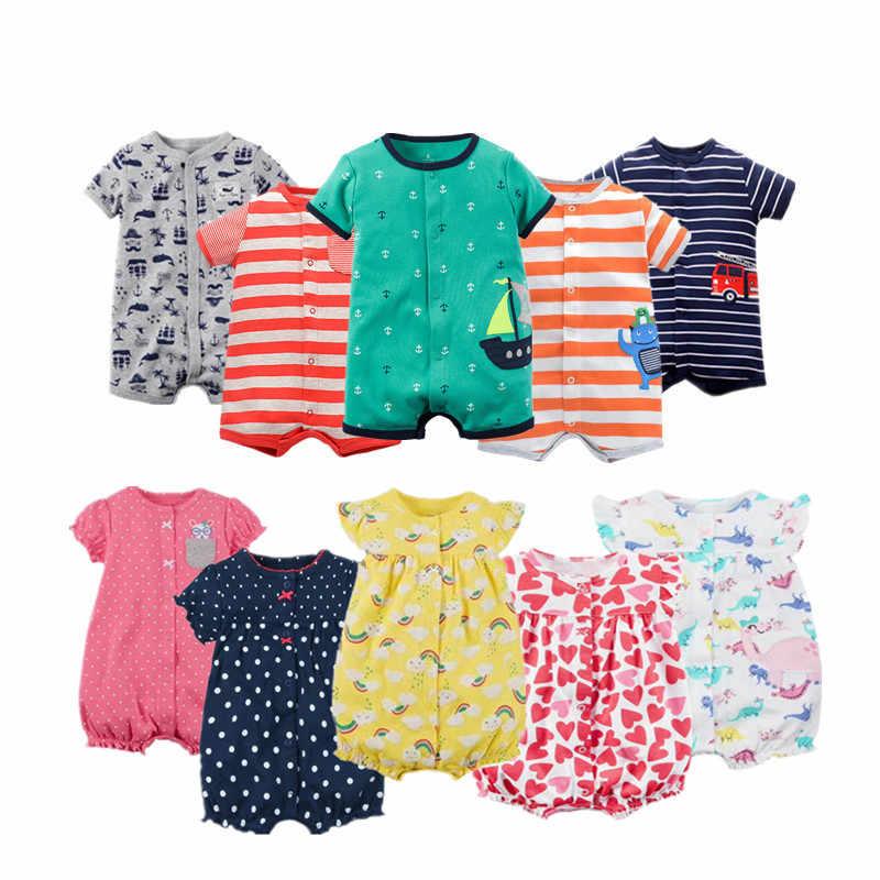 2018 bébé barboteuses garçons filles Costume confortable vêtements Bebes enfant nouveau-né combinaison bébé vêtements barboteuse porter corps Bebe