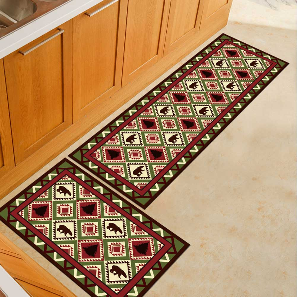 Washable Kitchen Mats with Anti Slip Bottom for Kitchen and Hallway Entrance Floor 35