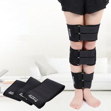 3pcs/Set O/X Legs Posture Corrector Correction Braces Bandage Knock Bowlegs Orthotic Straightening Thigh Knee Pads Support(China)