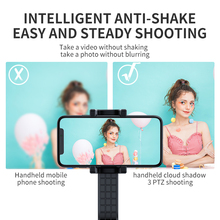 Selfie Stick Live Broadcast Stand Video Camera Single Draw PTZ Stabilizer Portable  Selfie Stick Remote Control Tripod Universal