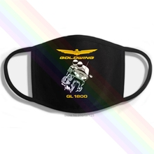 Mouth-Mask GL1800 Motocycles-Rider-Logo Printing Washable Cotton Goldwing Classic Black