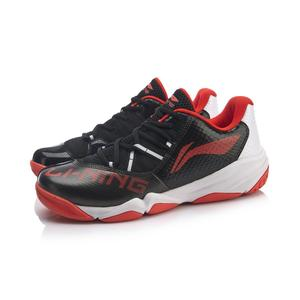 Image 4 - Li ning の男性 ACCELERATIONV3 プロのバドミントンシューズ通気性ライニングウェアラブルスポーツ靴スニーカー AYTP033 OND19