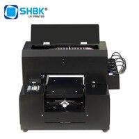 Shbk a4 pequena impressora a jato de tinta uv 3d gravado automático plana escudo do telefone móvel acrílico metal que faz a máquina