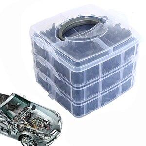 Image 3 - Kit de clips de fixation pour toutes les automobiles, rivets à pression, pour pare choc, 620, pièces/boîte, clips de fixation de garniture