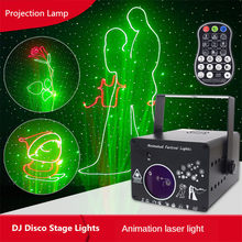 3D LED Laser Projection Light Rgb Colorful Dmx 512 Scanner Projector Party Xmas Dj Disco Show Lights Music Equipment Dance Floor