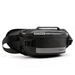 Image 3 - Waterproof waist bag Man Money Belt Bag Teenagers Travel Wallet Belt Male Waist Pack Cigarette Case for Phone