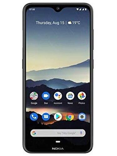 Phone <font><b>Nokia</b></font> 7.2, Black Color Carbon (Black), 128 GB of Internal Memory 6 GB RAM, Dual SIM, FHD Screen + 6,3