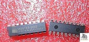 10 PÇS/LOTE SM3015B SM3015B-BM8B-FN1N DIP18 controle remoto controlador de ventoinhas