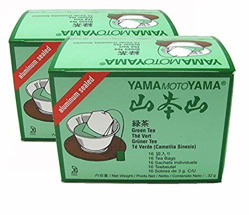 2 X Japanisch (Sencha) Green Tea Von Yamamotoyama - 16 Taschen