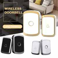 Wireless Doorbell Waterproof 300M Remote EU AU UK US Plug Smart Door Bell Home Security Wireless Doorbell