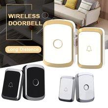 Wireless Doorbell Waterproof 300M Remote EU AU UK US Plug Smart Door Bell Home S